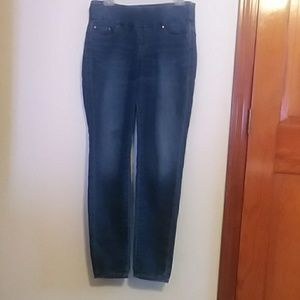 Jag high-rise skinny jeans